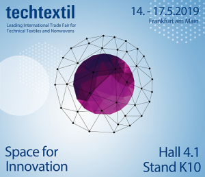 On the way to Techtextil 2019 Frankfurt
